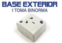 *TOMA EXTERIOR  C/TIERRA TOMA 20A KURBOX