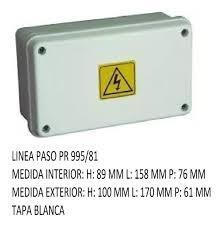 CAJA PVC ESTANCO 170X100X81 PR995/81