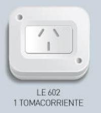 INTERRUPTOR EXTERIOR 1 TOMA