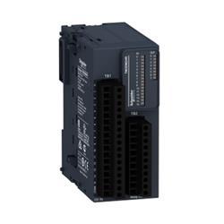 MODULO COMBINADO 24 I/O (16DI+8DO) 24VDC TM3DM24R