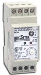 AUTOMATICO ESCALERA DIN p/200W LED 27S/10M 0907