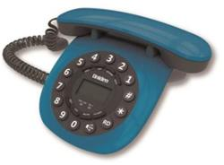 TELEFONO MESA RETRO AZUL 8601 MANOS LIBRES