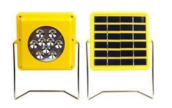 LINTERNA+CARGADOR SOLAR TODO/UNO LED1.5W SUP.BRILL.USB 666