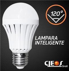 LAMPARA LED BULBO EMERGENCIA  9W FRIA E27 882LM 120°