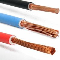MTS.CABLE FLEXIBLE 0,50 MM NEGRO