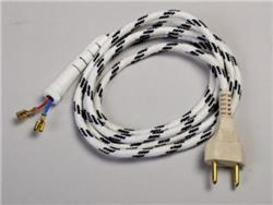CABLE.ARMADO P/PLANCHA CON BOQUILLA  2X0,75 MM 3013