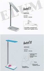 LAMP ESCRIT.INTEL 8W GRIS DIMERIZABLE