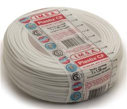 MTS.CABLE PLASTIX 1,5 MM BLANCO