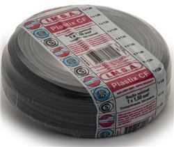 MTS.CABLE PLASTIX 1,5 MM NEGRO