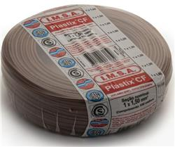 MTS.CABLE PLASTIX 1,5 MM MARRON