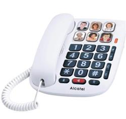 TELEFONO MESA NUM.GDES.6MEM. C/FOT.TEMP. MAX 10