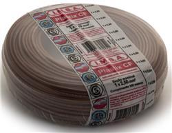 MTS.CABLE PLASTIX 2,5 MM MARRON