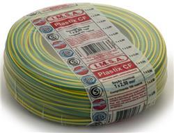 MTS.CABLE PLASTIX 2,5 MM VERDE/AMARILLO