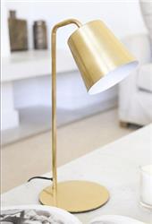 LAMPARA DE MESA KIM BRONCE ICLUYE LAMPARA LED E27