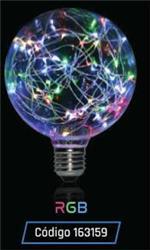 LAMPARA LED GLITTER GLOBO G125 1,5W 35LM 320° RGB