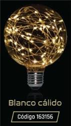 LAMPARA LED GLITTER GLOBO G125 1,5W 35LM 320° BLANCO CALIDO