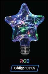 LAMPARA LED GLITTER ESTRELLA   1,5W 35LM 320° RGB