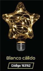 LAMPARA LED GLITTER ESTRELLA 1,5W 35LM 320° BLANCO CALIDO