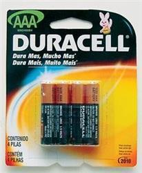 BLISTER X 4 AAA ALCALINA DURACELL 2220