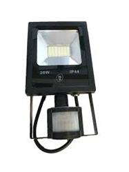 PROYECTOR LED 30W-CALIDO 2700K CON SENSOR IP44