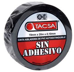 CINTA AISLADORA S/ADHESIVO 19MMX20MTS