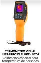 TERMOMETRO INFRARROJO FLUKE VT04