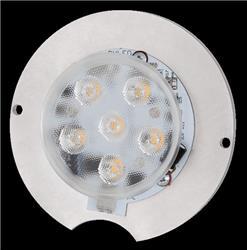 PLAQUETA LED BLANCO 12W 11CM LE9752