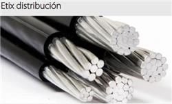 MTS.CABLE PREENSAMBLADO ALUMINIO 3X70+50+25 MM