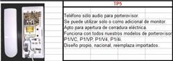 TELEFONO SOLO AUDIO P/PORTERO VISOR TP5
