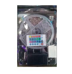 KIT CINTA 5050 RGB 5MT COMPLETO PARA INTERIOR 12V