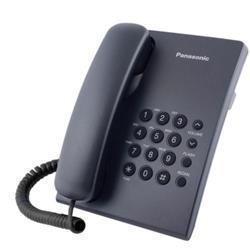 TELEFONO MESA/PARED NEGRO KX-TS500