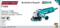 AMOLADORA ANGULAR 710W 115M 1100R-TG1071156-4
