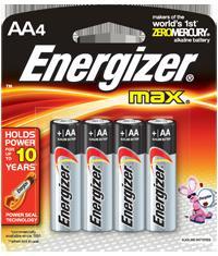 BLISTER X 4 AA  ALCALINA ENERGIZER