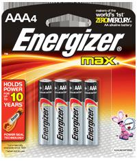 BLISTER X 4 AAA ALCALINA ENERGIZER
