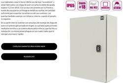 GABINETE IP65 SER.MBOX 300X300X150M.ESP.1,25M+PLAC.M
