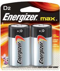 BLISTER X 2 D ALCALINA ENERGIZER