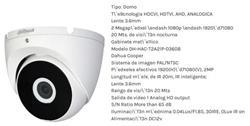 CAMARA DOMO 1080 INFRARROJA IP67 METALICA