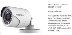 CAMARA BULLET 1080P PVC LENTE 2, 8MM IR 20M  IP66
