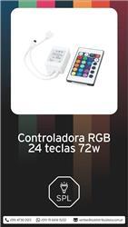 CONTROLADORA RGB 24 TECLAS 72W