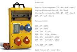 CENTRAL CBOX EN XENOY (PC Y PBT) IP44 - 32A IPSK