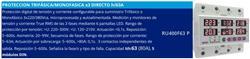PROTECTOR TRIF/MONOF.DIGITAL DIN  RU400F63 P