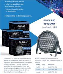 ARTEF. LED DANCE PRO 18W RGB