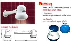 DUCHA ELECTRICA MAXI-DUCHA 5400 W C/RESISTENC