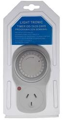 INTERRUPTOR HORARIO ENCHUFABLE 2A OD-TA20 24HS