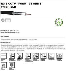 MTS.COAXIL RG-6 F67% 75@ TRISHI