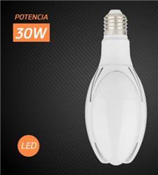 *LED FLOW 30W FRIA 2700L E27 50000