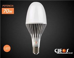 *LAMPARA LED FLOWER 70W FRIA 6000L E40 50000 HS.