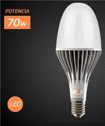 LAMPARA LED FLOWER 70W CALIDA 6000L E40 50000 HS.