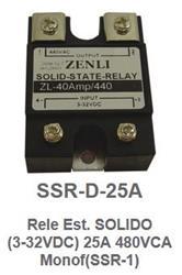 RELE ESTADO SOLIDO H/440V  25A  3-32VCC  ZENLI