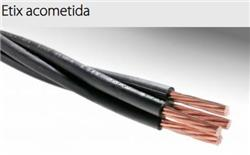 MTS.CABLE ETIX ACOMETIDA 4X6 MM